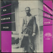 Bo Carter : Greatest Hits 1930-40 (Vinyl) Second Hand