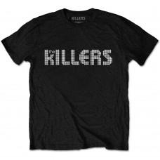 Killers : Dots Logo (Black) (T-Shirt)
