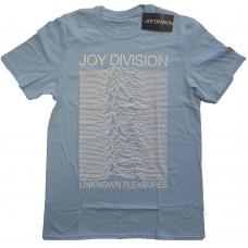 Joy Division : Unknown Pleasures Fp (Blue) (T-Shirt)