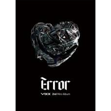Vixx : Error: 2ND Mini Album (CD Box Set)