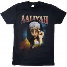 Aaliyah : Trippy (Black) (T-Shirt)