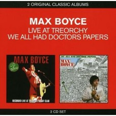 Max Boyce : Live At Treorchy / We All Had Doctors (CD)