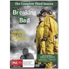 Breaking Bad: The Complete Third : Breaking Bad: The Complete Third (Blu-Ray DVD)