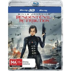 Resident Evil: Retribution Blu-Ray 3D + : Resident Evil: Retribution Blu-Ray 3D + (Blu-Ray DVD)