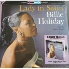 Billie Holiday : Lady In Satin: Lp + Cd (Vinyl)