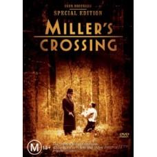 Miller's Crossing : Miller's Crossing (DVD) Second Hand