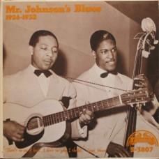 Lonnie Johnson : Mr. Johnson's Blues 1926-1932 (Vinyl) Second Hand